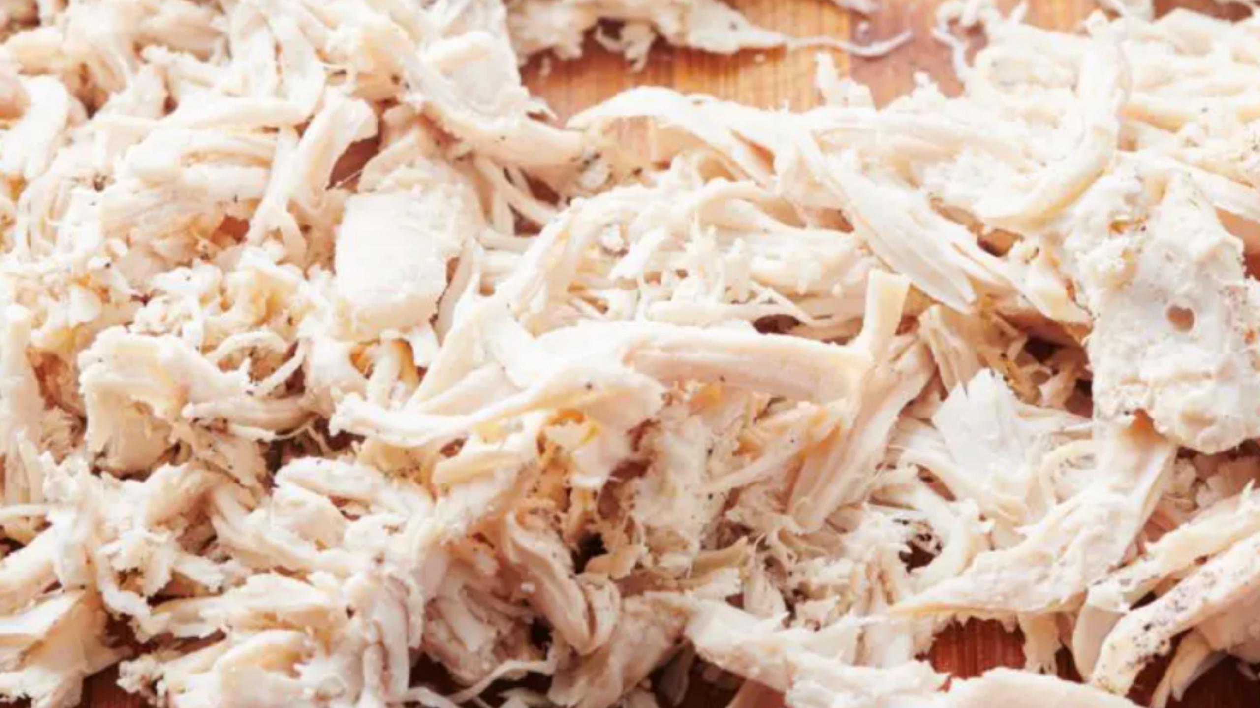 Homemade Shredded Chicken
